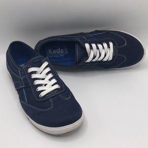 Keds Shoes - Keds Ortholite Comfy Navy Sneakers